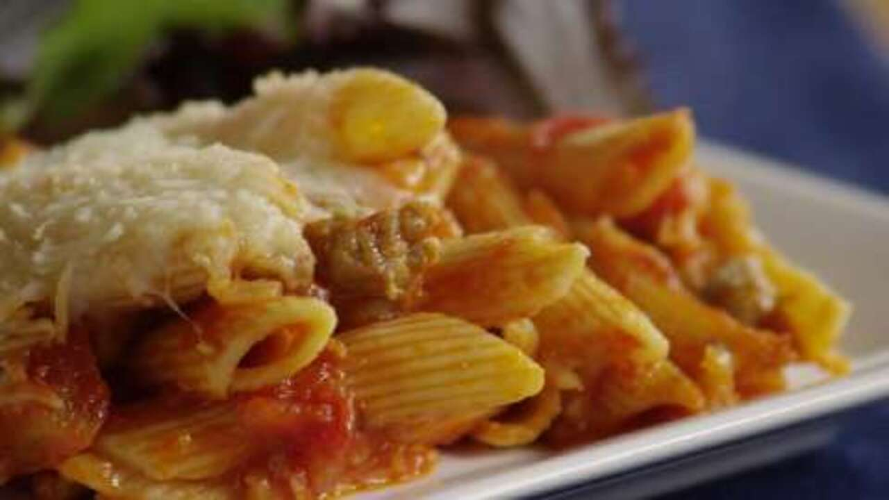 Slow Cooker Italian Style Penne