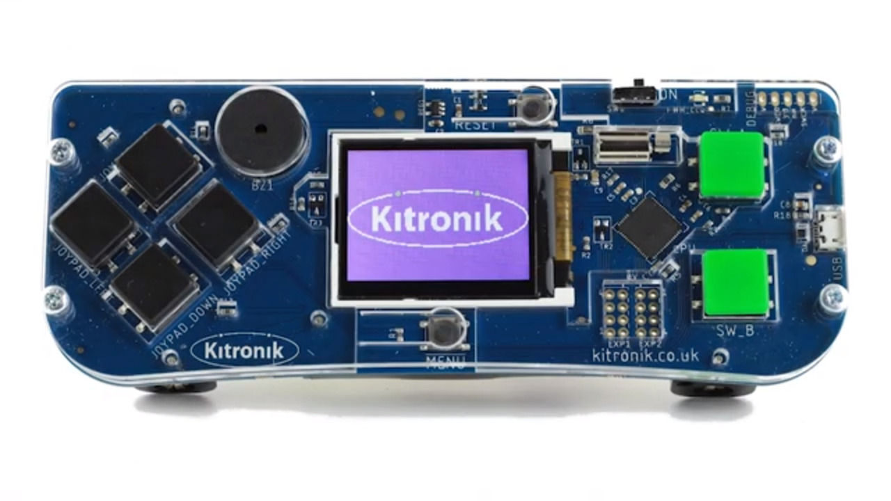 Kitronik ARCADE Gamepad for Microsoft MakeCode Arcade