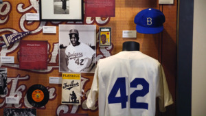 "Woody Guthrie Center's ""Take Me Out to The Ballgame"" Exhibit"