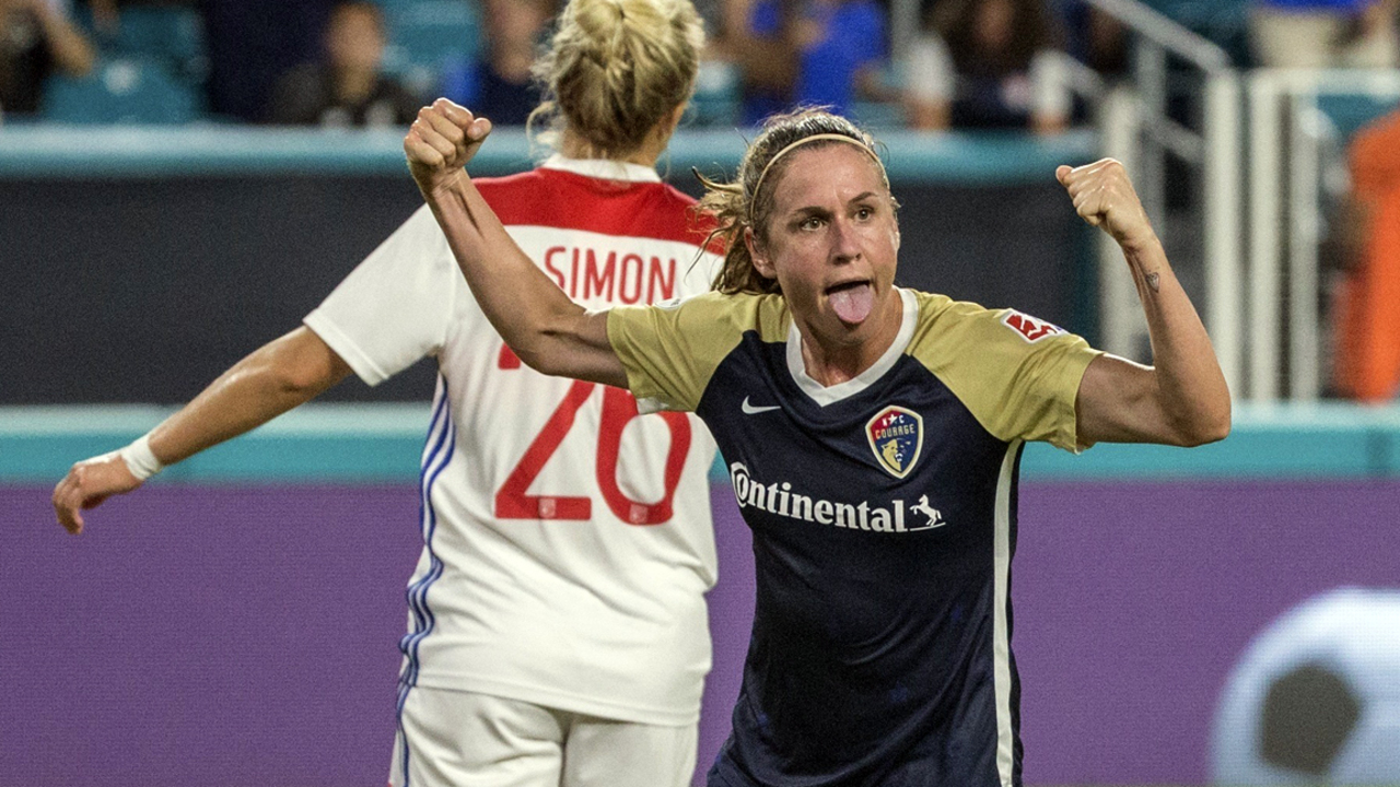 Top-ranked U.S. women blast Trinidad and Tobago, move one win from World Cup berth