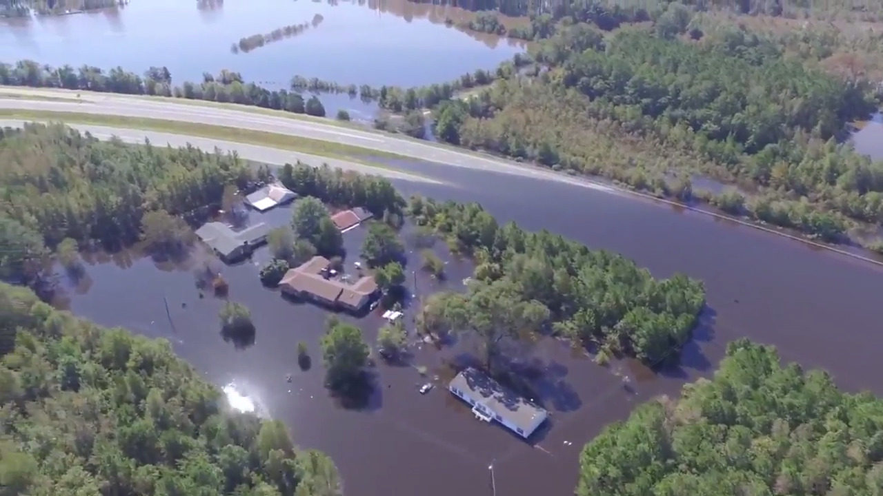 NCDOT warns of dangers of flooded streets