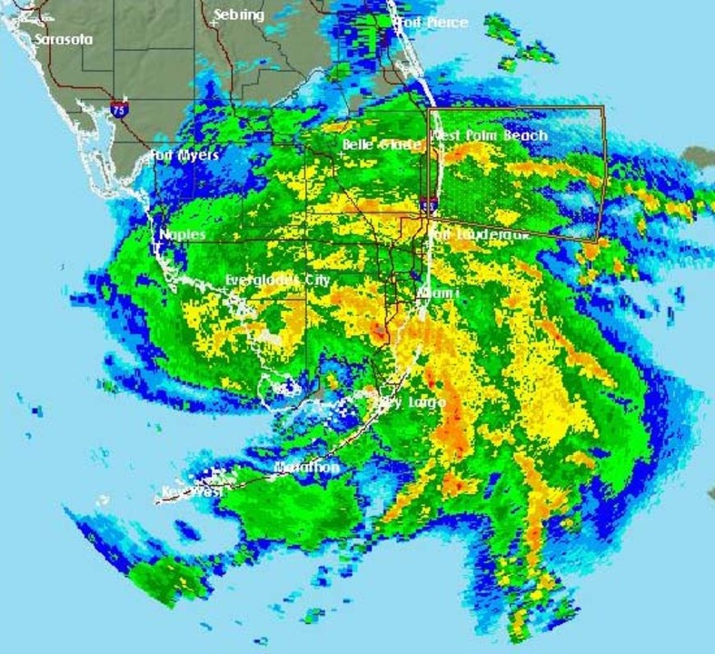 Happy Labor Day, South Florida: Tropical Storm Gordon forms, a flood watch all day