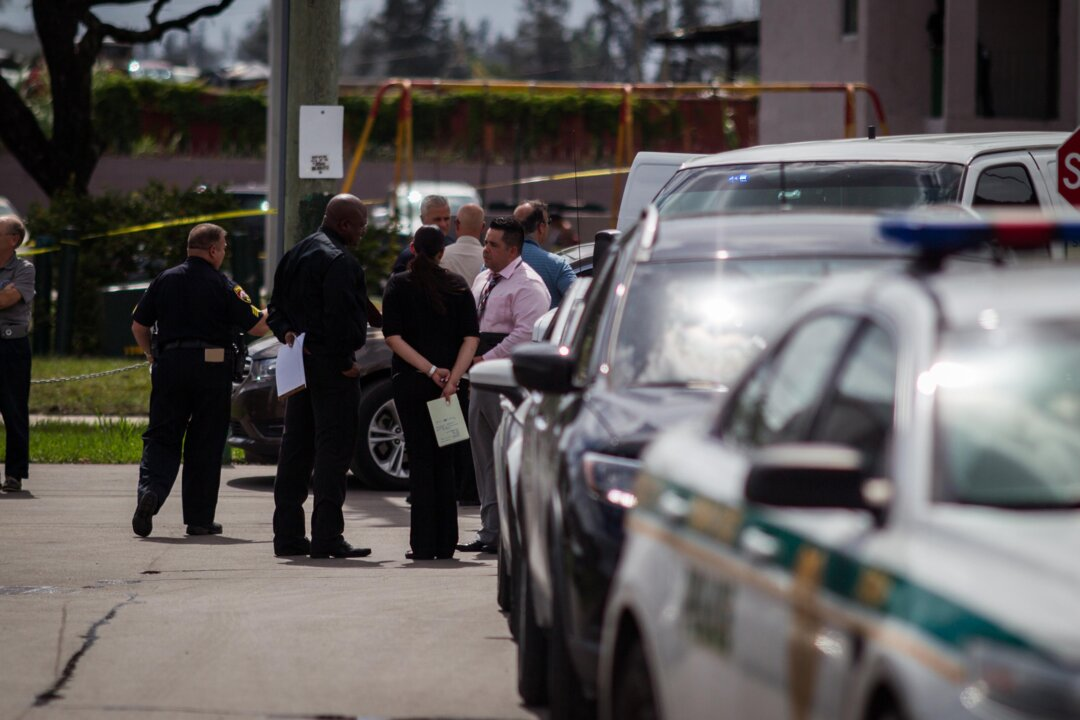 Officers respond to a Miami-Dade police involved shootout
