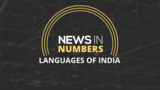 Languages of India: News in Numbers