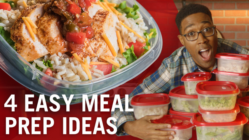 4 Easy Chicken Meal Prep Recipes