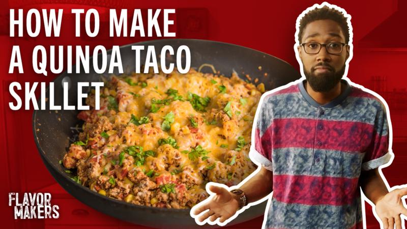 How to Make Quinoa Taco Skillets