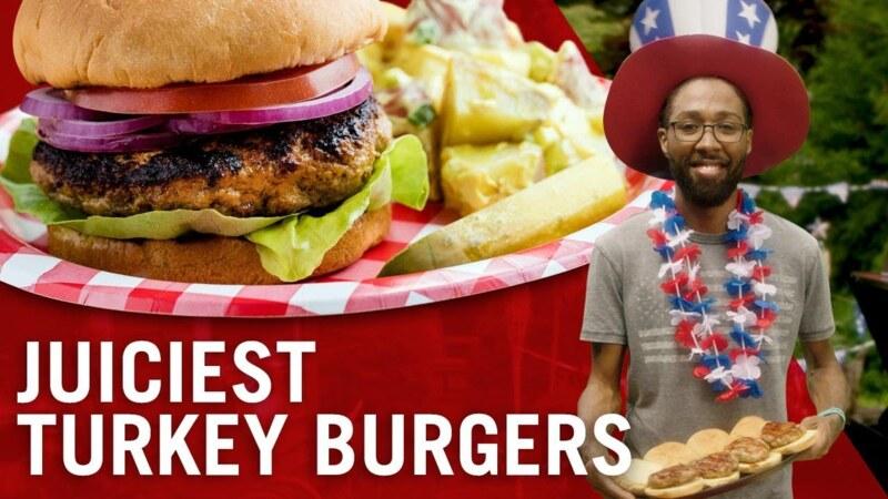 How to Make Turkey Burgers