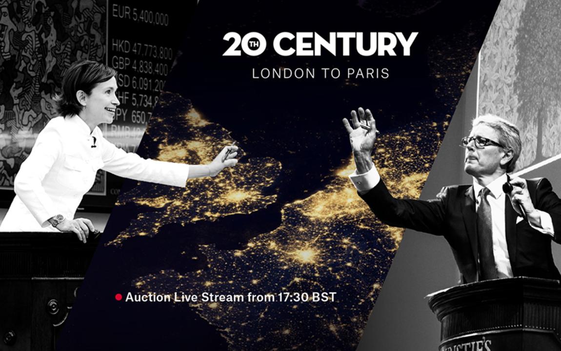 20th Century: London to Paris  auction at Christies