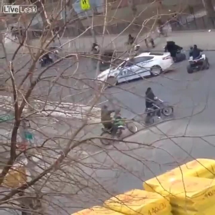 Video: NYPD conduct massive ATV sting following officer injury