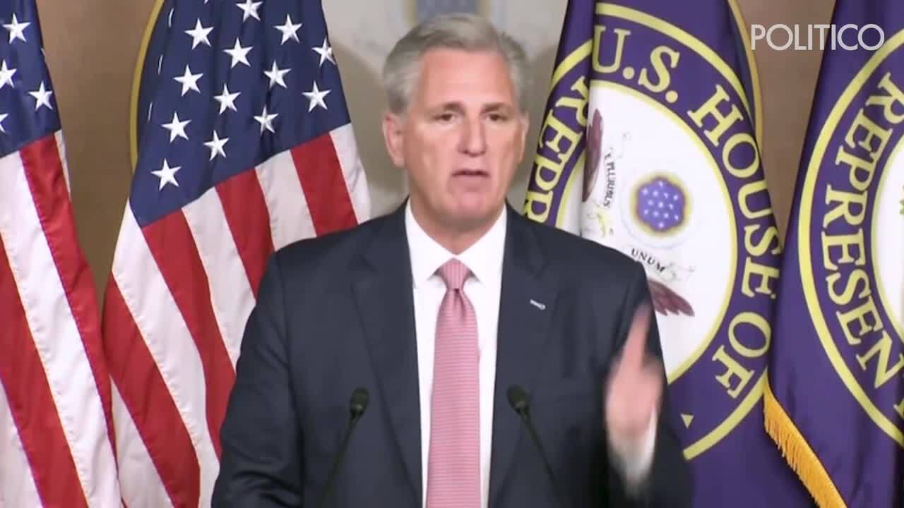 McCarthy counters Trump's message that voters sit out future elections
