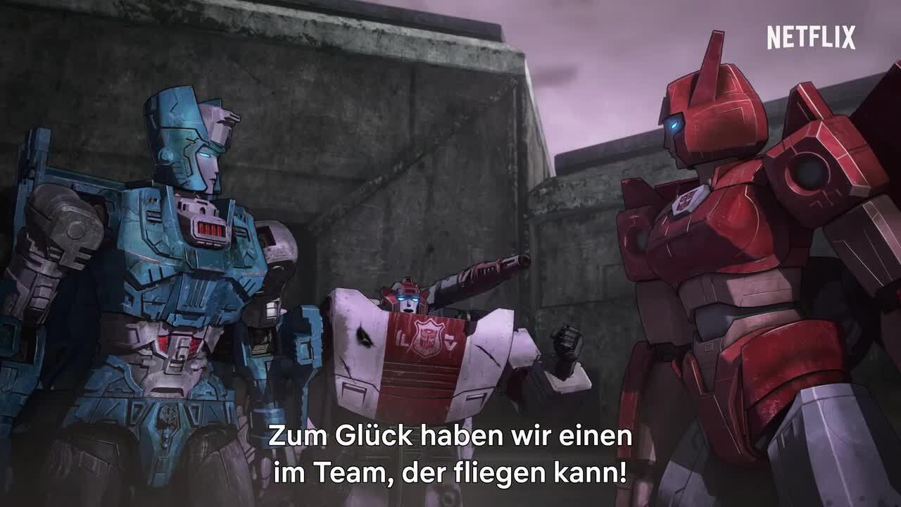 Transformers Earthrise – Netflix Trailer