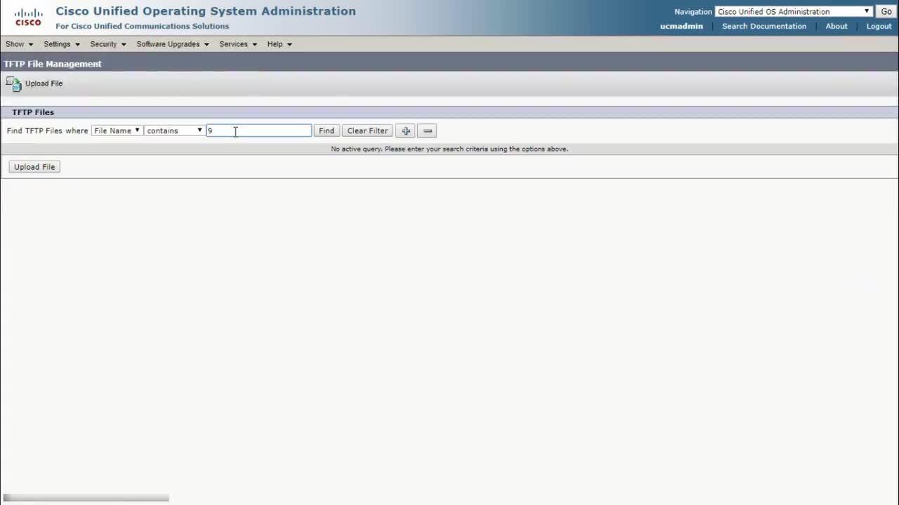 Upgrading a Cisco Collaboration Endpoint via CUCM