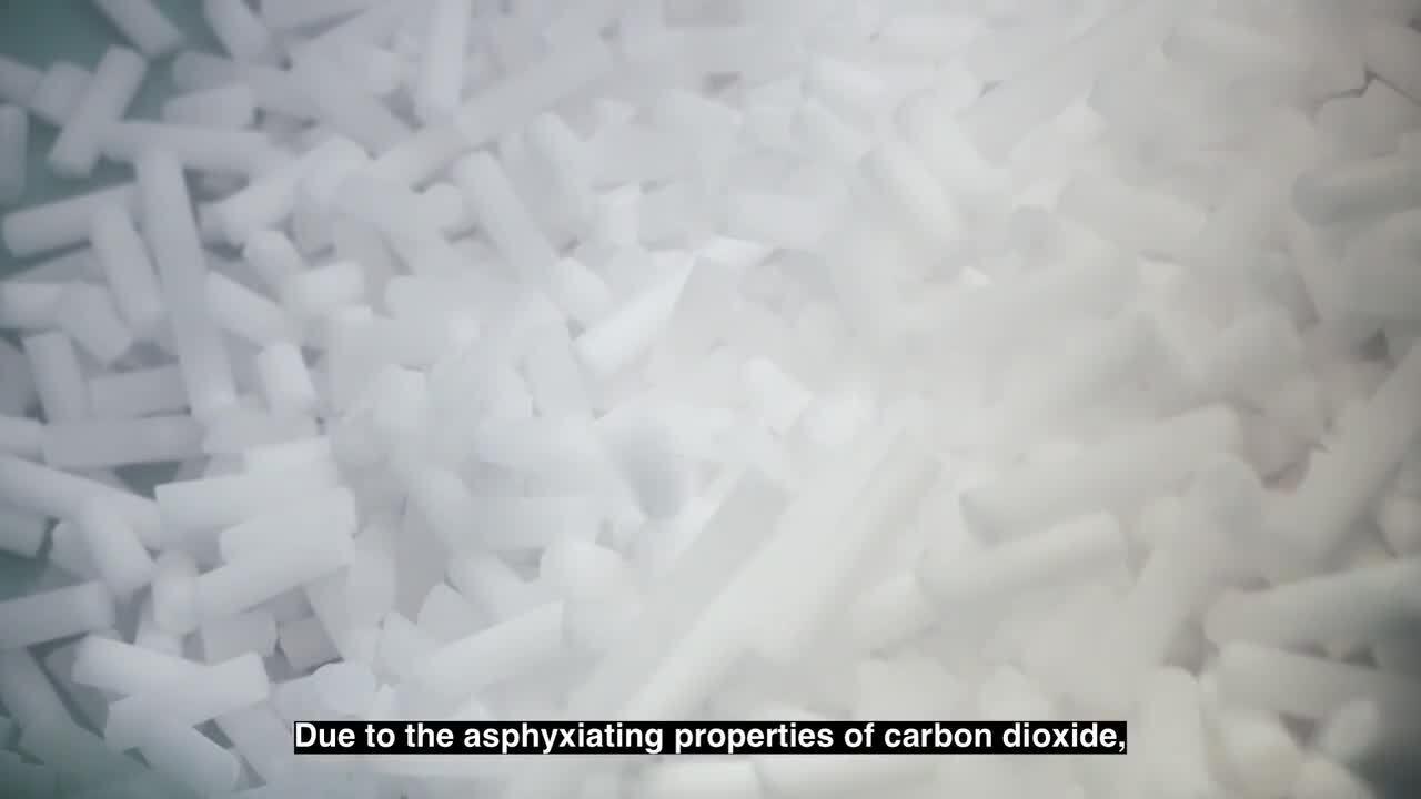 Jak produkuje się suchy lód