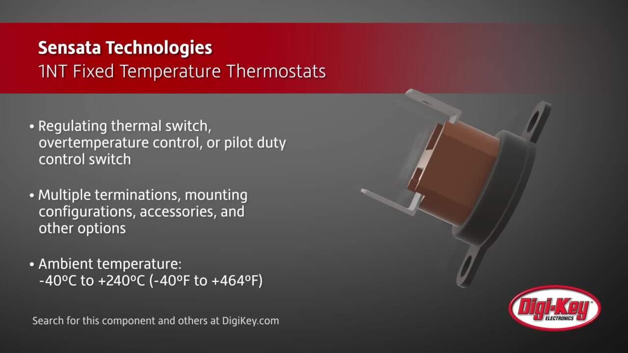 Sensata 1NT Fixed Temperature Thermostats | Digi-Key Daily