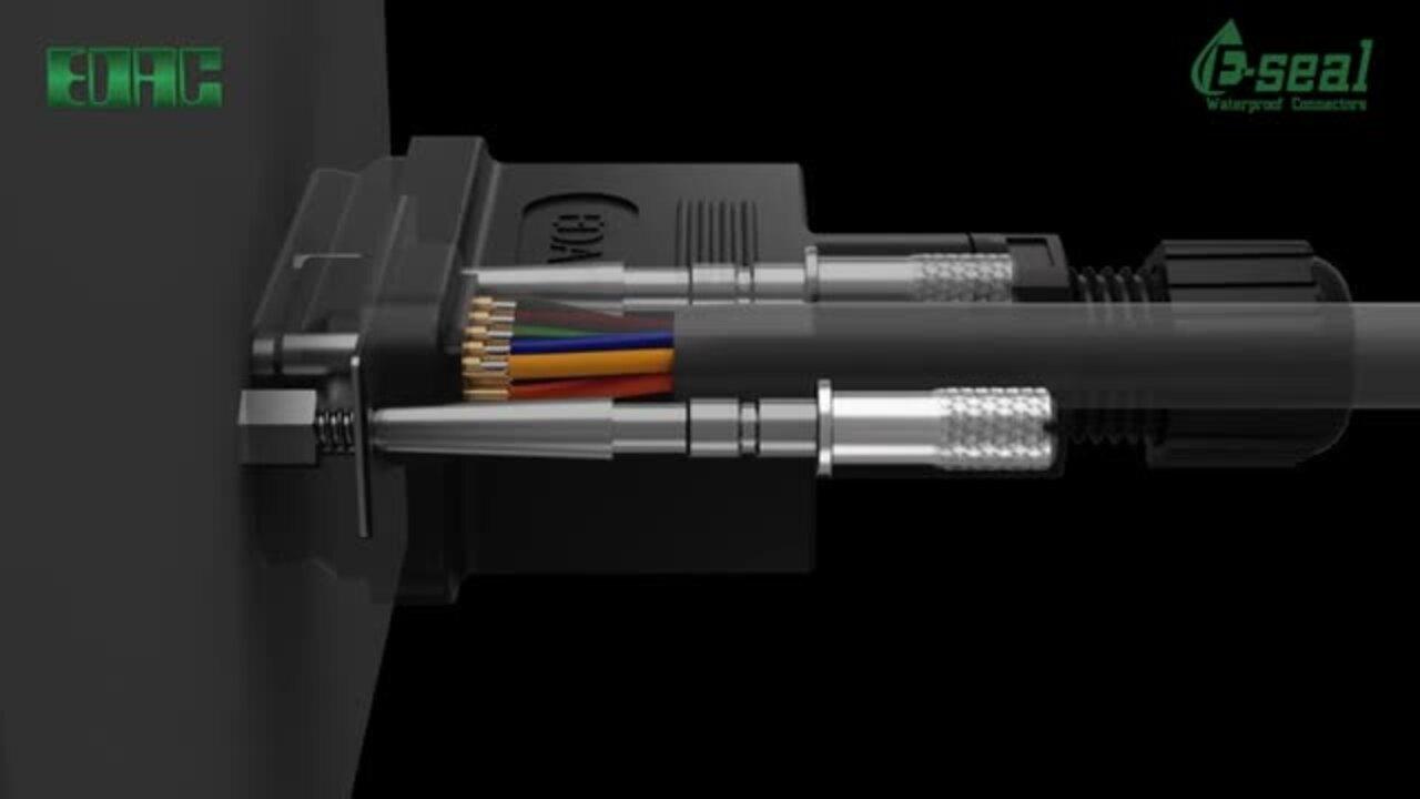 EDAC D-Sub Waterproof Connectors