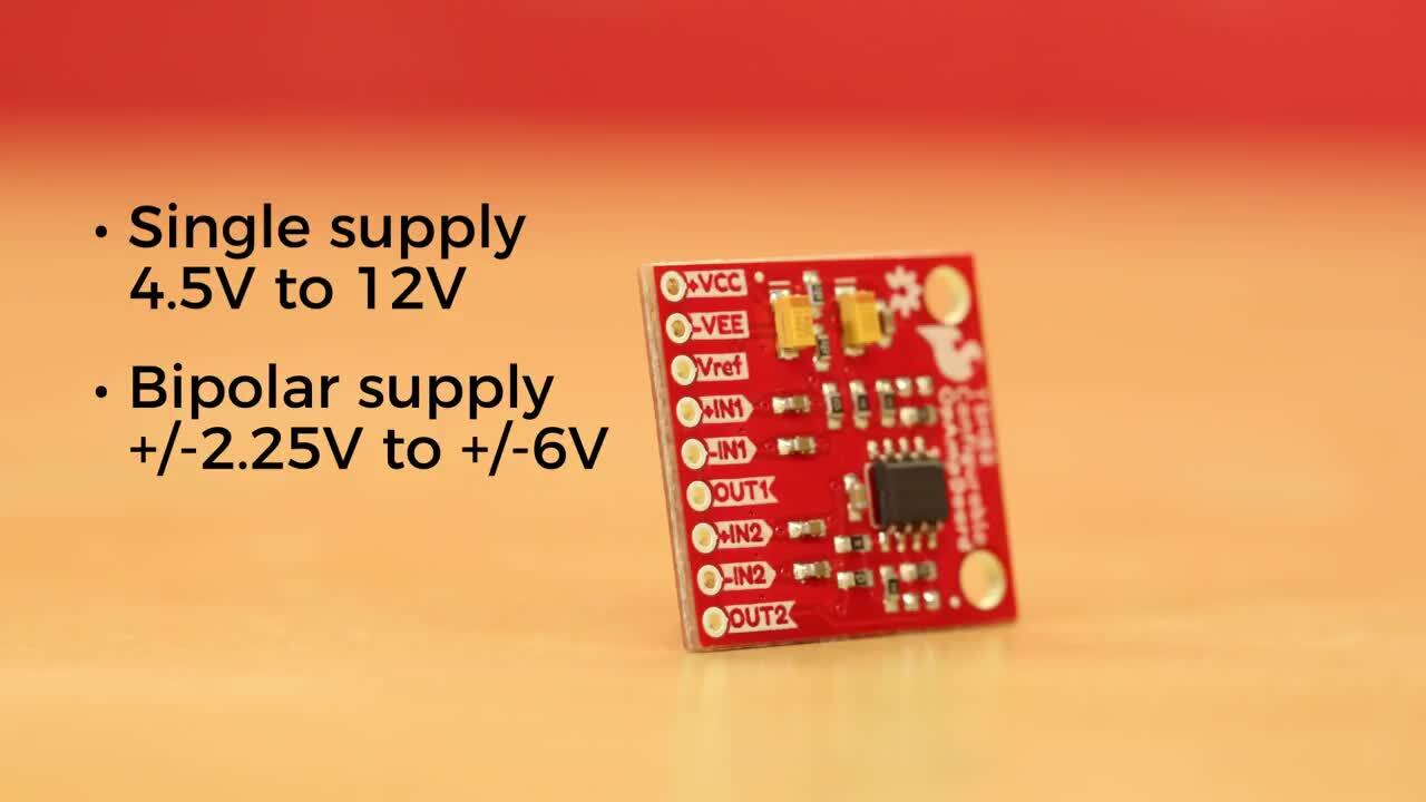Product Showcase: SparkFun Configurable OpAmp Board