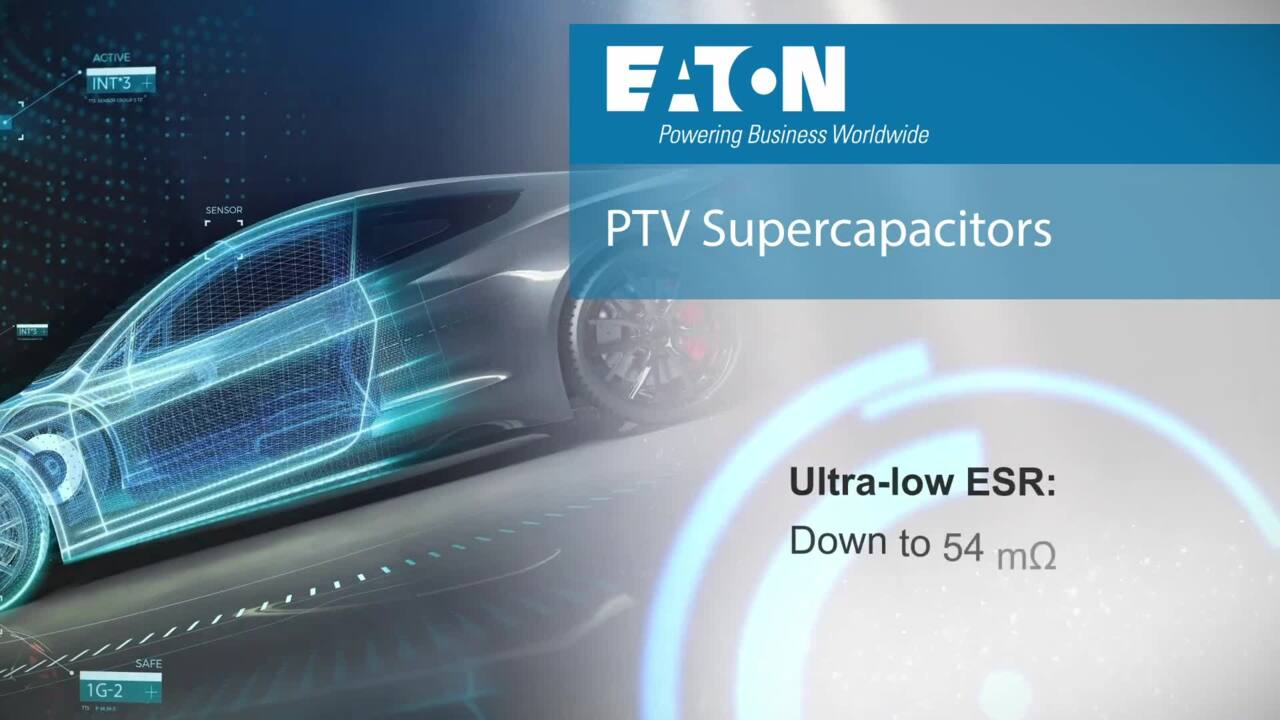 PTV 6V Supercapacitor Pack