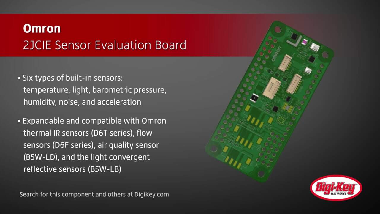 Omron 2JCIE Sensor Evaluation Board | Digi-Key Daily
