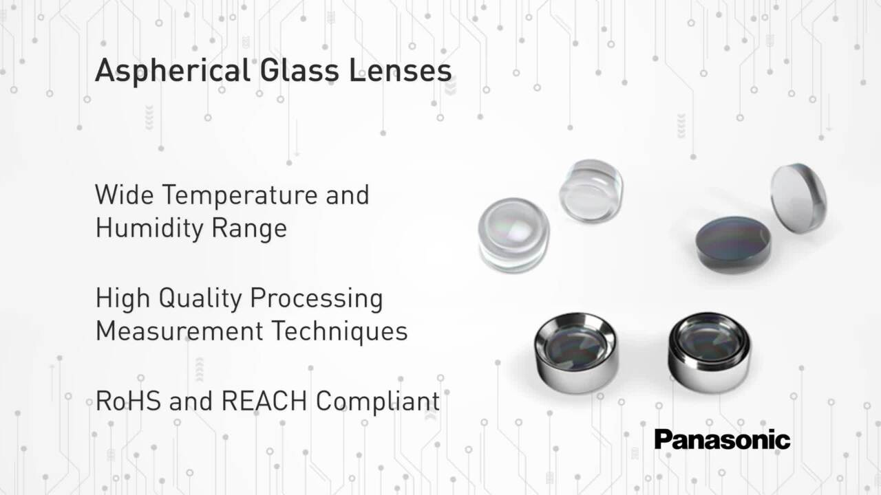 Aspherical Glass Lenses