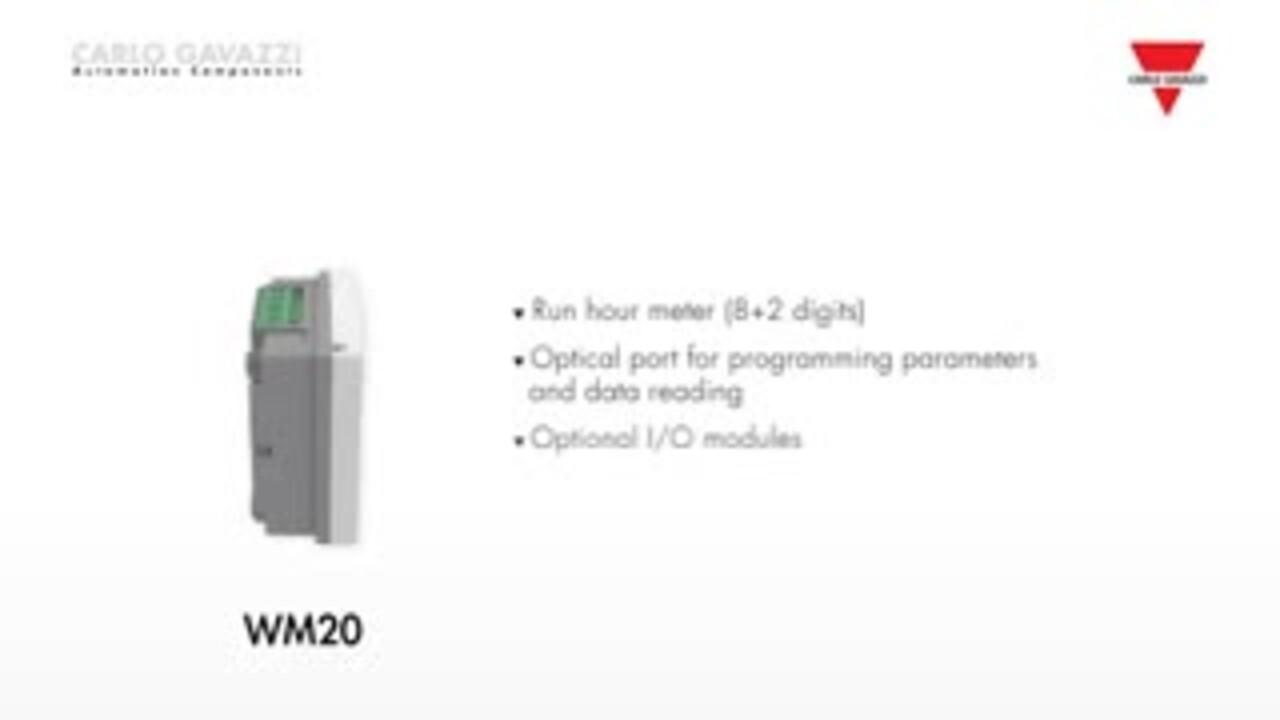 WM20 Series Smart Power Analyzer