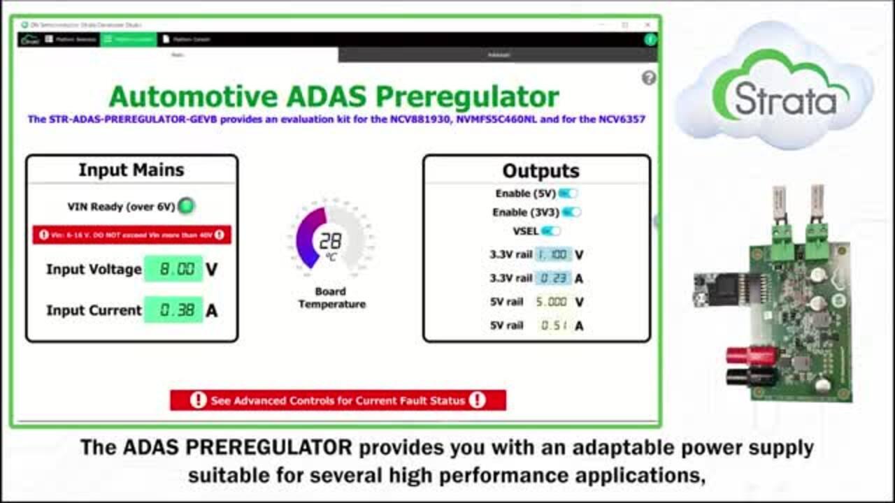 Automotive ADAS Preregulator
