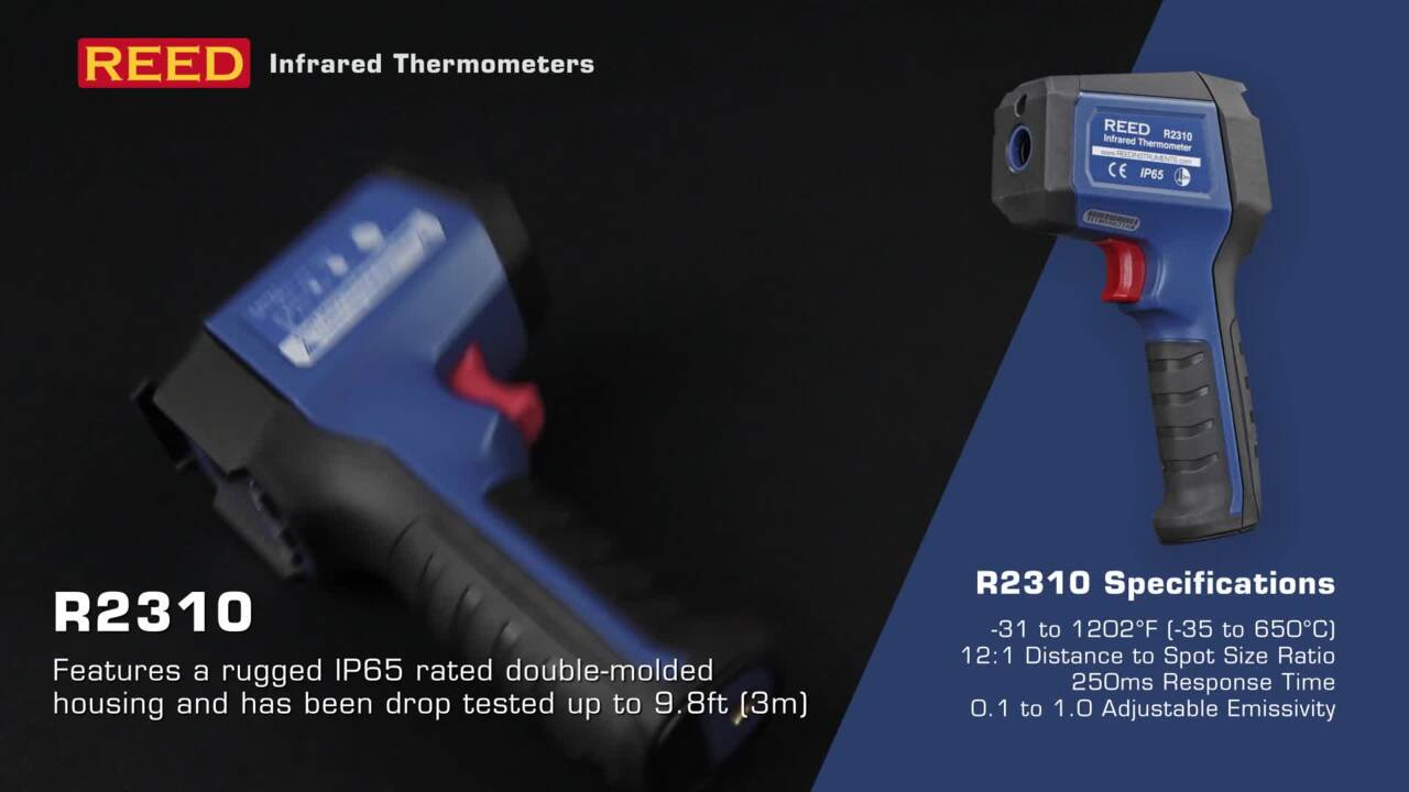 REED Instruments Infrared Thermometers