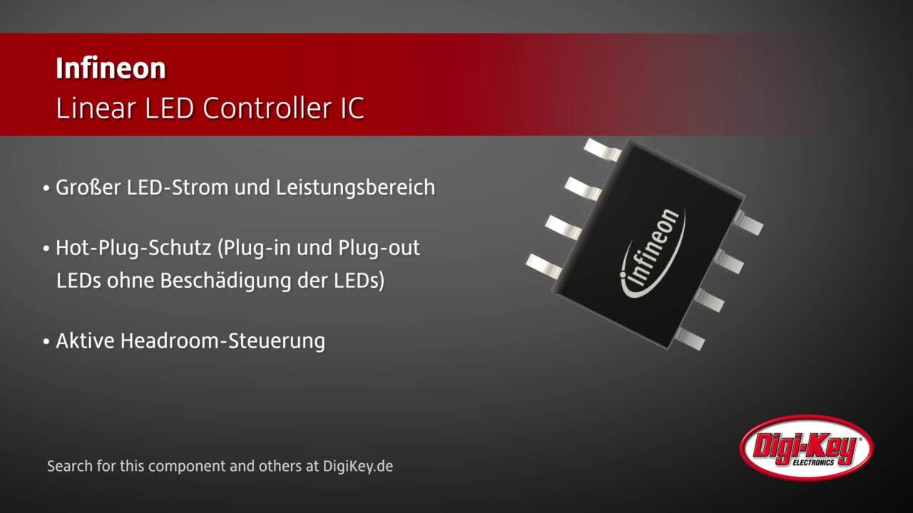Infineon Linear LED Controller IC | Digi-Key Daily