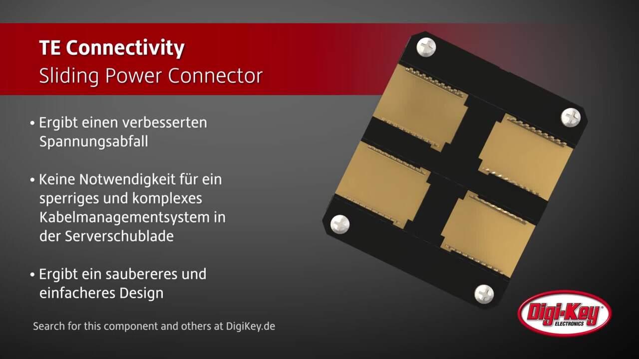 TE Connectivity Sliding Power Connector   Digi-Key Daily