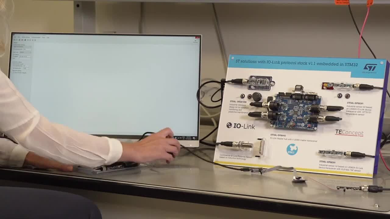 Unboxing the STEVAL BFA001V2B, a multi sensor development kit with IO-Link connectivity