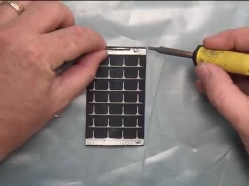 How to Solder PowerFilm OEM solar modules