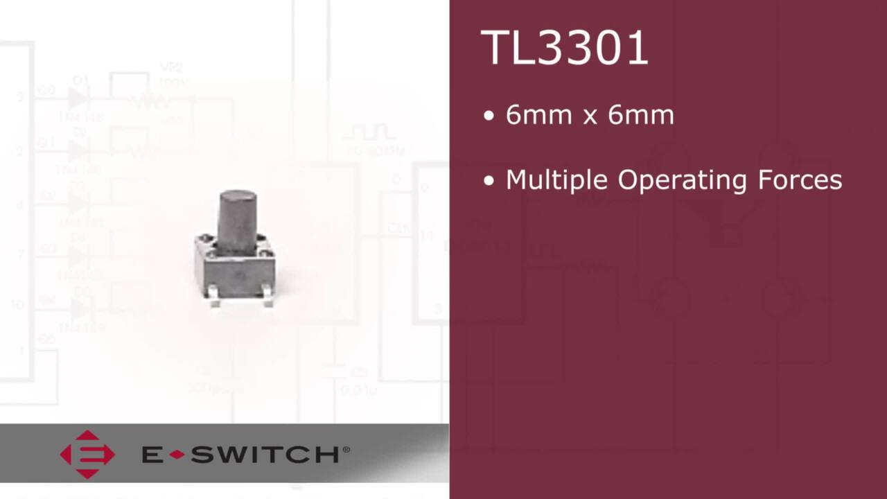 E-Bits – TL3301 – SMD Tactile Switches