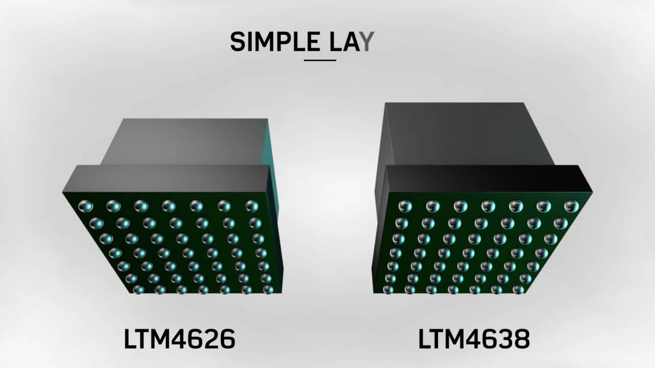 Introducing the LTM4626 and LTM4638 µModules®