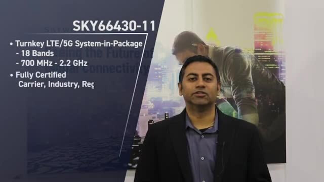 Skyworks 5G Massive IoT System-in-Package (SiP)