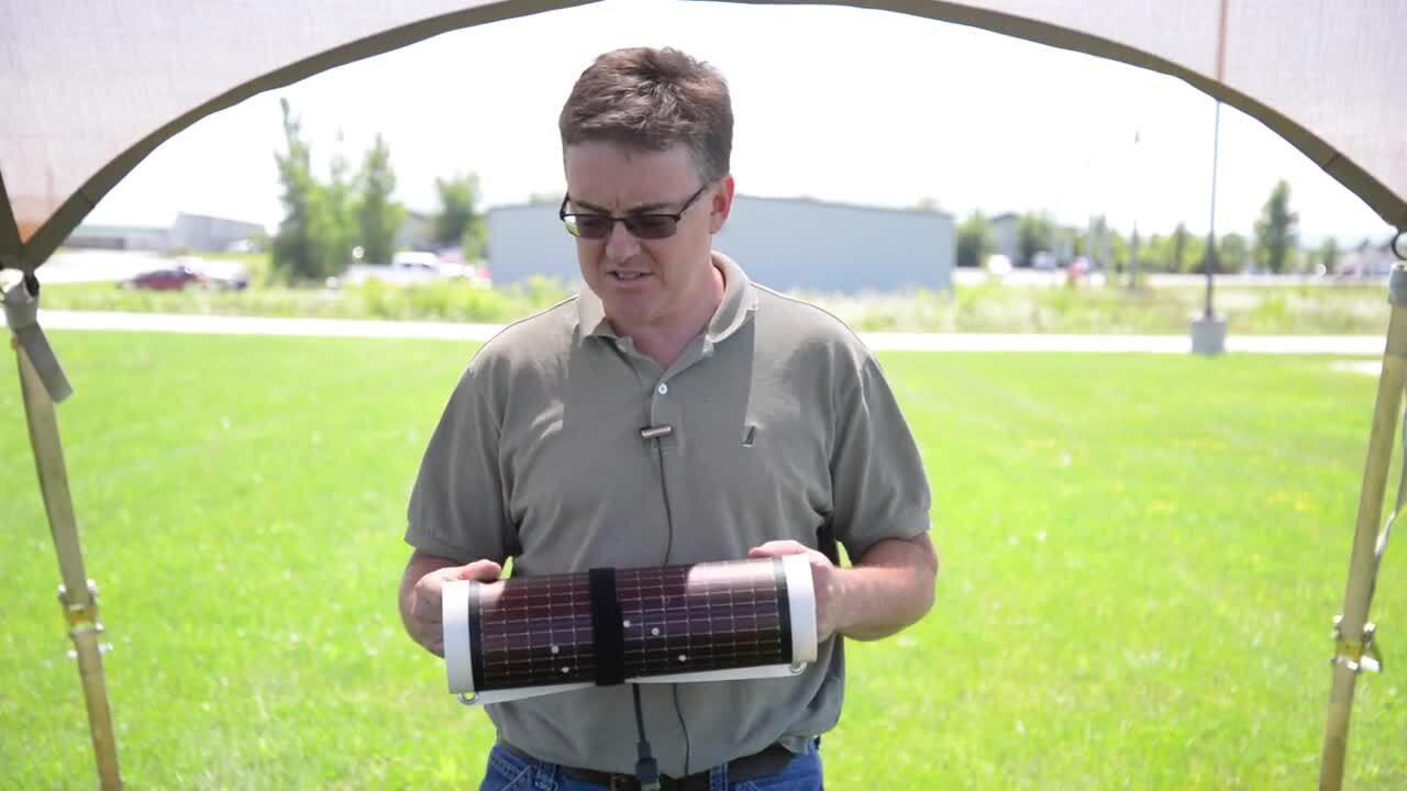 PowerFilm Solar Extreme Durability Test