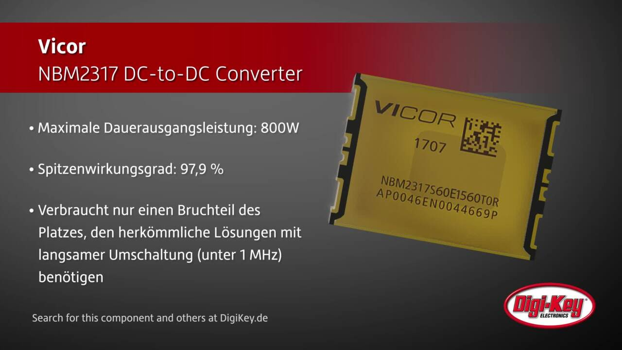 Vicor NBM2317 DC-to-DC Converter | Digi-Key Daily