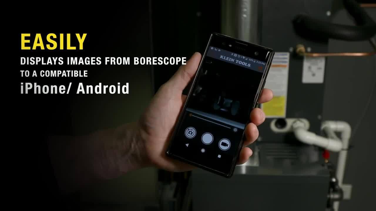 Klein Tools Wi-Fi Borescope