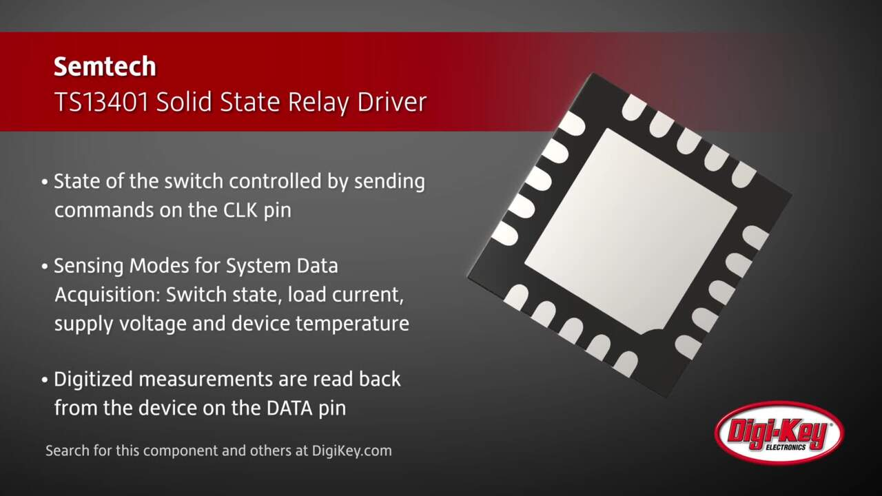 Semtech TS13401 Solid State Relay Driver | Digi-Key Daily