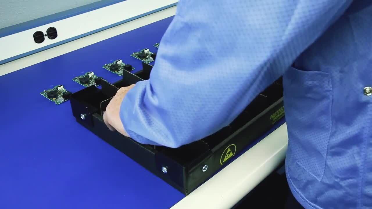 Protektive Pak Board Handler Stacking Trays