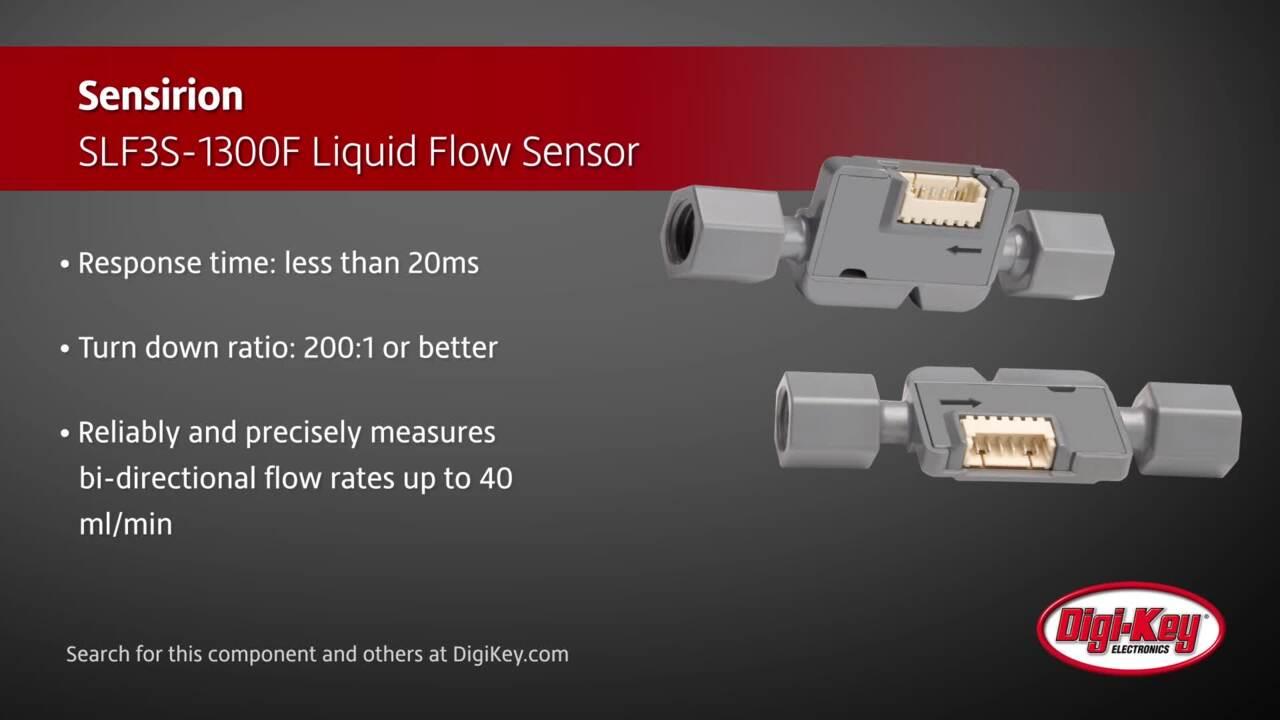 Sensirion SLF3S-1300F Liquid Flow Sensor | Digi-Key Daily