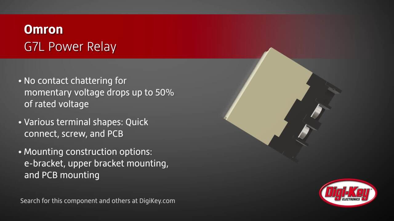 Omron G7L Power Relay | Digi-Key Daily