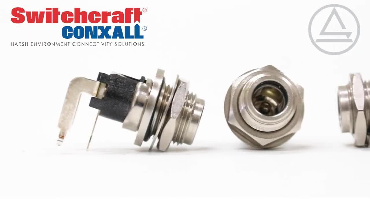 Sealed DC Power Jacks and Plugs