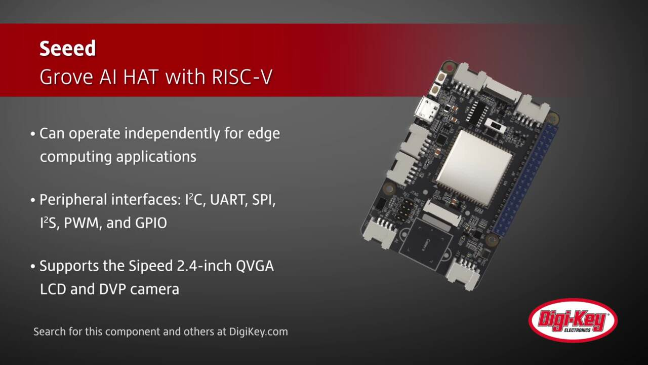 Seeed Grove AI HAT with RISC-V | Digi-Key Daily