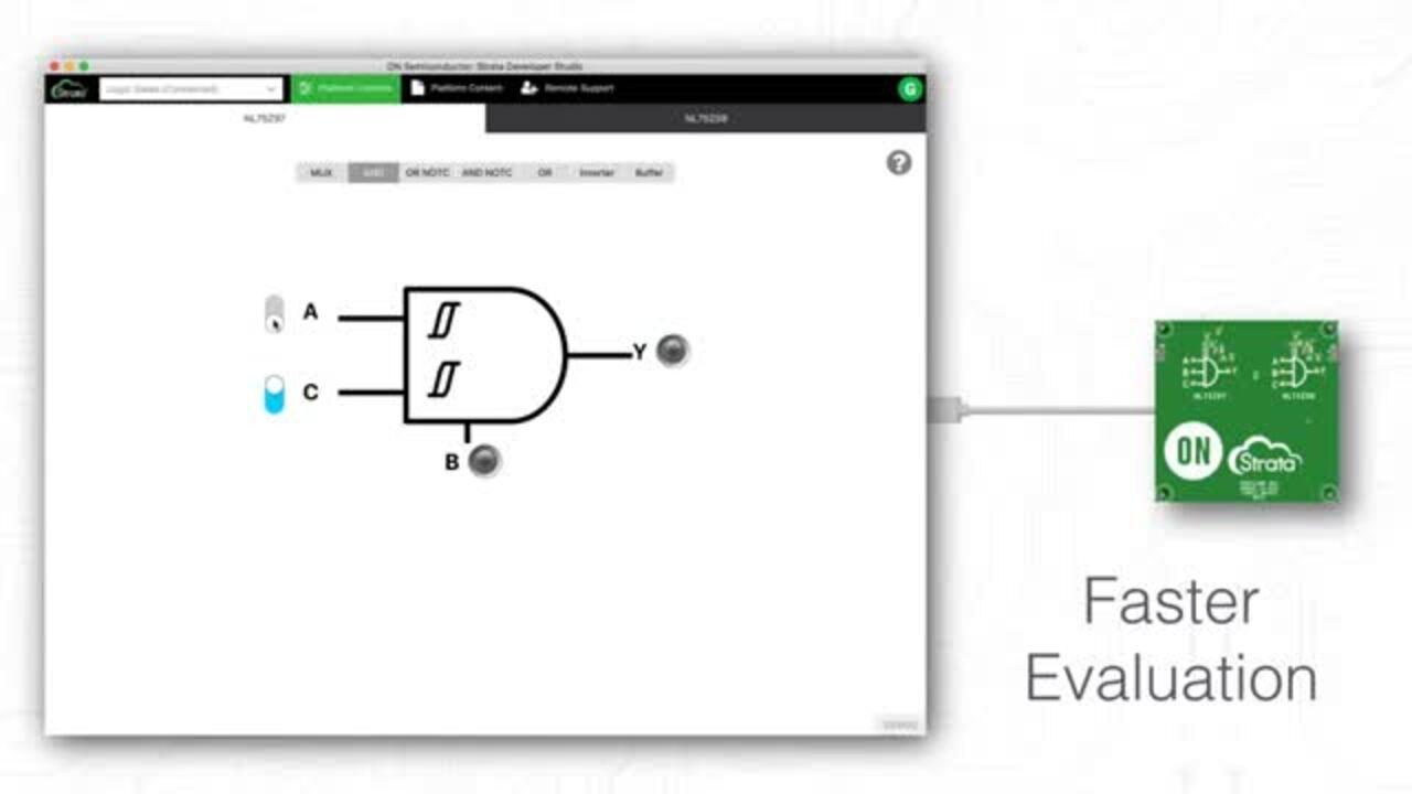 Strata: Logic Gate Interfacing