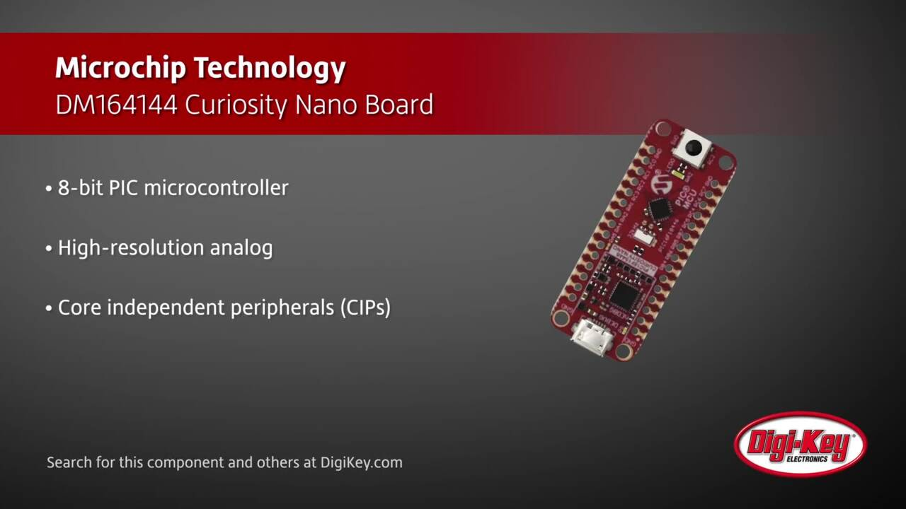 Microchip DM164144 Curiosity Nano Board | Digi-Key Daily