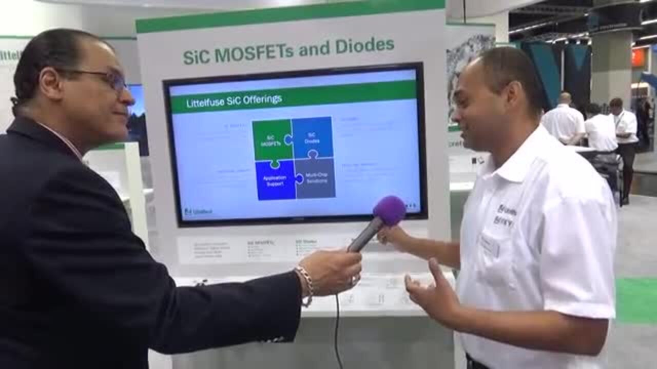 Littelfuse on their aggressive move into SiC power modules at PCIM 2018