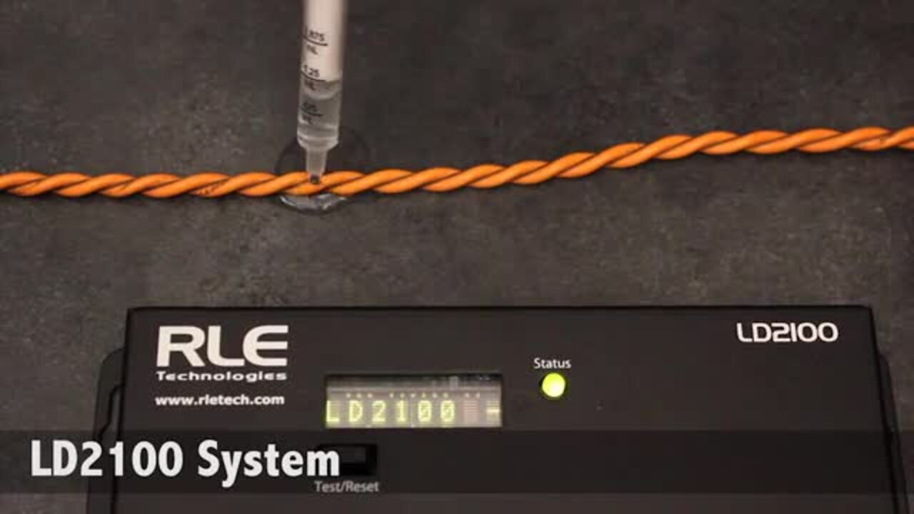 SeaHawk Leak Detection Cable In Action