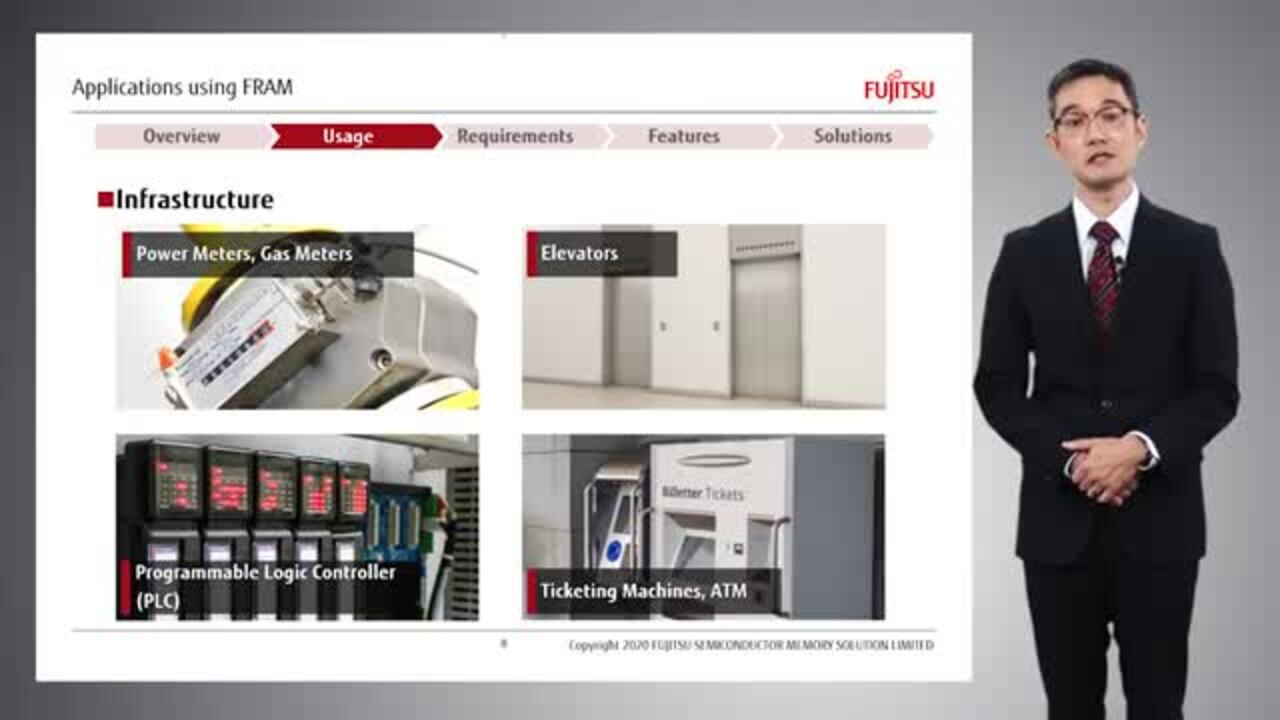 Fujitsu Introduction of FRAM Usage