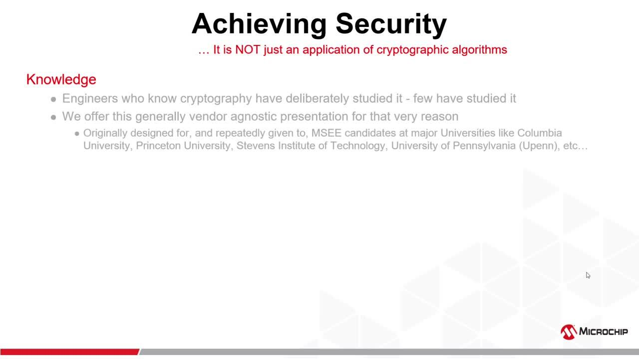 Microchip Security: Cryptography Primer - Pt 1 - Why security today?