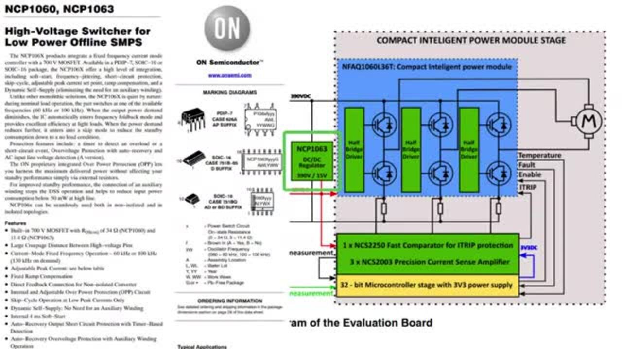 Industrial Motor Control Evaluation System