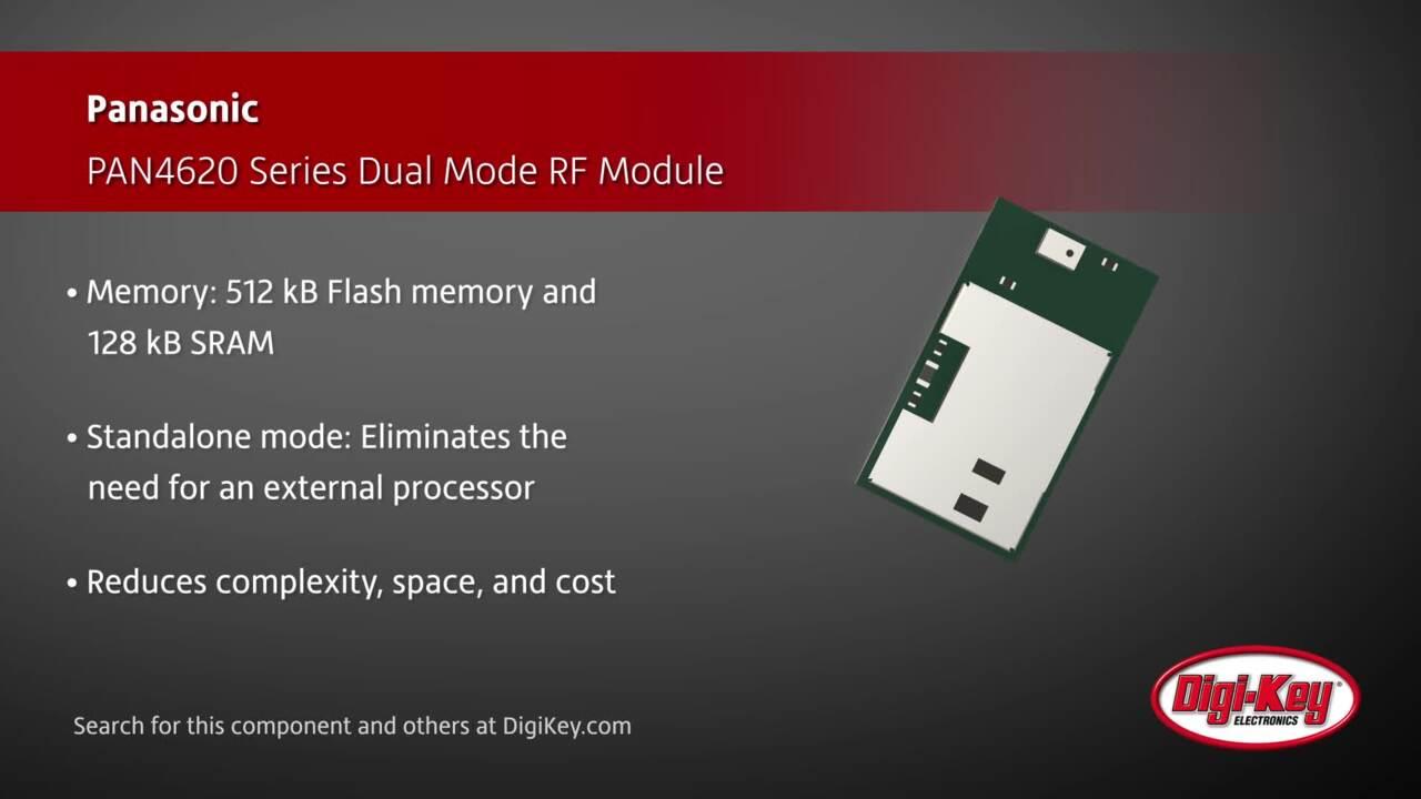 Panasonic PAN4620 Series Module | Digi-Key Daily